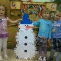 Мохнатый снеговик!