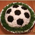 Салат «Футбол» (мамам мальчишек)