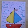 Детские рисунки к 23 февраля
