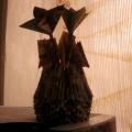 Оригами «Ваза»— поделки с детьми подготовительной группы.