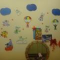 Оформление приёмной в детском саду на 23 февраля (день защитника Отечества)
