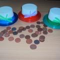 Дидактическая игра по обучению детей грамоте «Три шляпы»