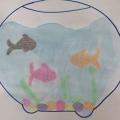 «Разноцветные рыбки в аквариуме»