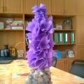 Цветы радости, красоты и любви (мои новые работы в аппликации-коллаж)