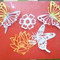 Летние вытынанки «Бабочки»