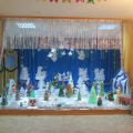 Оформление зала «Новогодняя сказка в лесу!»