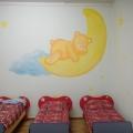 Оформление спальни во второй младшей группе «Ромашка»