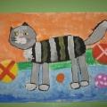 «Кошачий вернисаж». Выставка рисунков