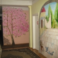 Оформление стен в нашем детском саду