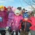 Наши зимние прогулки.