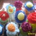 Цветочные шапочки!
