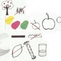 Индивидуальная работа по развитию у детей описательной речи с элементами моделирования.