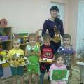 Выставка поделок из природного материала детей совместно с родителями «Чудеса осенней природы»
