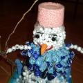 Конкурс поделок из бросового материала «Снеговик»