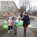 Акция «Светофор». В начале ноября была проведена акция по ПДД для детей подготовительной группы.