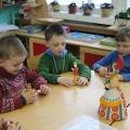 Кони по мотивам Дымковской игрушки