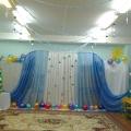 Новогоднее оформление группы и окон в детском саду