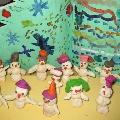 Счастливые дети— счастливые снеговички!