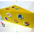 Игра по автоматизации и дифференциации звуков [С]-[Ш] в словах и предложениях «Сырный домик»