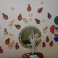 Оформление приёмной в детском саду на 14 февраля (день влюблённых)
