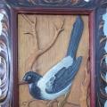 «Птицы родного края»— резьба по дереву.