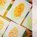 «Сочная кукурузка». Нетрадиционное рисование