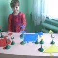 Дидактическая игра «Цветочная геометрия»
