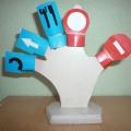 Пальчиковый театр «Королевство дорожных знаков»