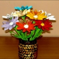 Готовимся к Дню Матери. Идеи подарков «Цветы своими руками»