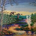 Репортаж с выставки народно-прикладного искусства села Новотроицкое