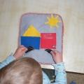 Дидактическая игра «Волшебная книга» на развитие сенсорики и мелкой моторики рук.