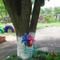 Детский летний участок «Цветочный» и его оформление.