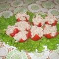 Кучерявые помидоры.