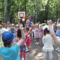 «Солнышко в гостях у детей». День защиты детей. Праздник на свежем воздухе