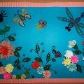 Панно «Цветочная полянка»