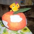 Атрибут к занятию на тему «Фрукты»— Чудо-яблоко.