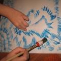 Рисование «Зимних узоров» очень интересно и просто!
