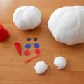Новогодняя игра «Собери снеговика»