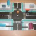 Дидактическая игра «Учим дорожные знаки»