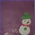 План-конспект интегрированное занятия «Среди снеговиков есть девочки и мальчики»