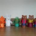 Куклы для театральной деятельности детей.