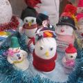 Фотоотчет о выставке снеговиков