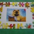 «Рамочки из пазлов»— красивое оформление для открыток, фото, рисунков.