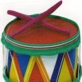Музыкально-дидактическая игра «Колокольчик— барабан»