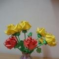 Цветы-оригами— любимым бабушкам и маме