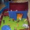 Дидактическая игра-макет «Ферма»