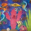 Комплексное занятие по художественному творчеству «Золотые рыбки» в логопедической группе
