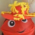 Конкурс шляп. Групповая работа детей старшей группы «Звуковая шляпа»