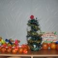 Украшение новогоднего стола.