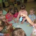 Коллективная детская поделка «Рыбки в аквариуме».